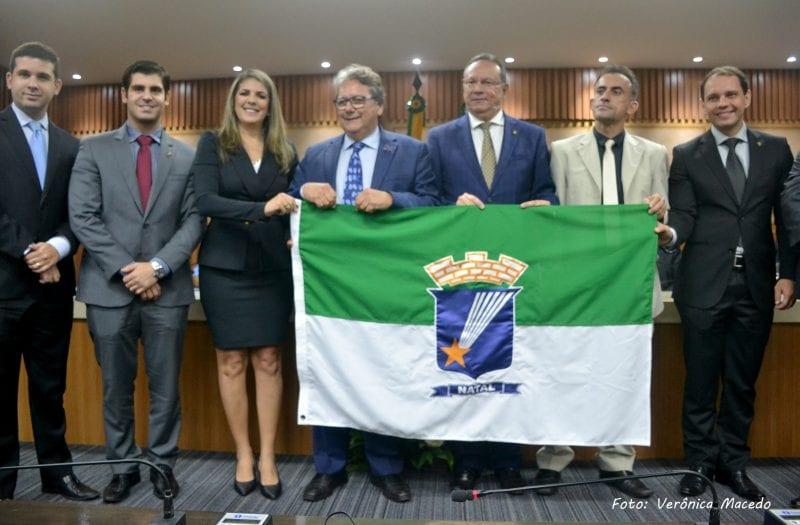 Presidente da Ebserh, Kleber Morais, recebe Título de Cidadão Natalense