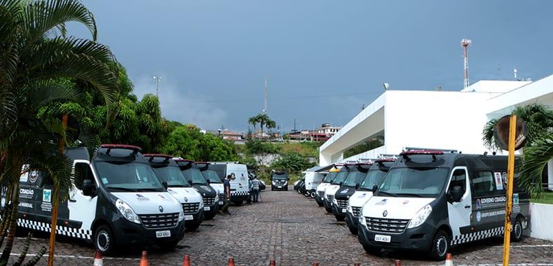 Segurança Pública: 23 bases móveis entram em operação no estado