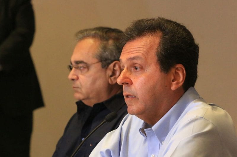 Carlos Eduardo anuncia renúncia do cargo e Álvaro Dias assume a Prefeitura de Natal