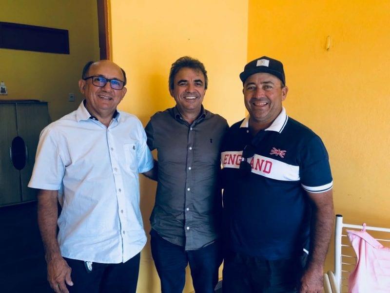 Pré-candidato  a deputado estadual, Jorge do Rosário se reúne com ex-prefeito de Fernando Pedrosa