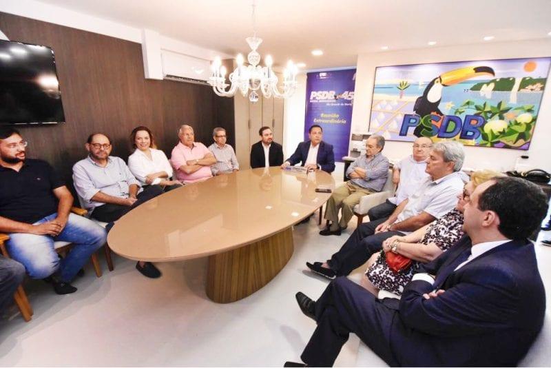 PSDB faz saudação ao recém-filiado Gustavo Fernandes