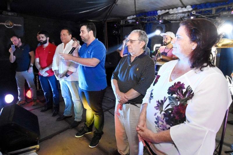 Ezequiel e Geraldo Melo visitam Agreste e recebem adesão de  Targininho em Canguaretama