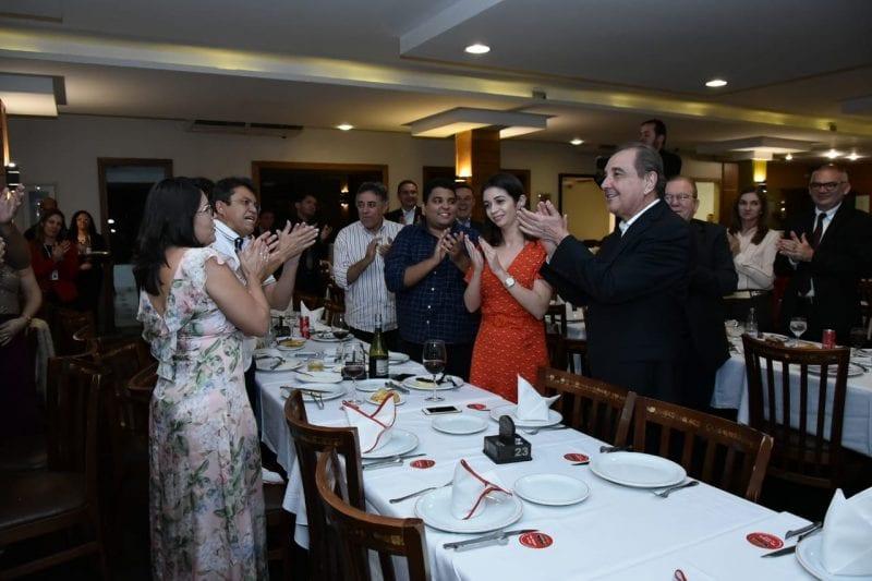 Em dia de aniversário, senador José Agripino é festejado por prefeitos