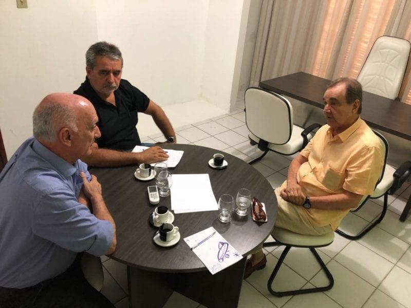 CODERN e Sindicato dos Portuários dialogam com senador José Agripin