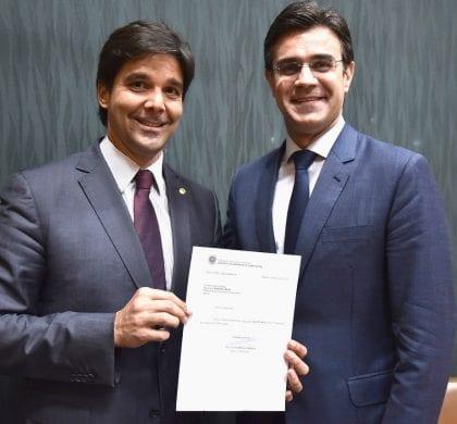 Deputado Felipe Maia é designado primeiro vice-líder do Democratas na Câmara dos Deputados