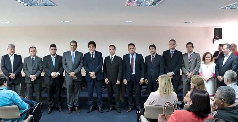 Governador empossa sete novos auxiliares da administração estadual