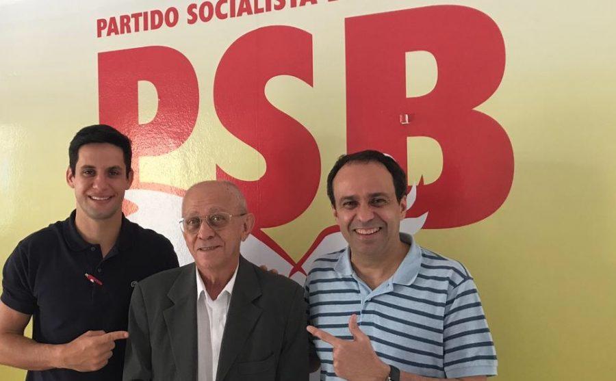 Rafael Motta, Franklin Capistrano e Fábio Dantas