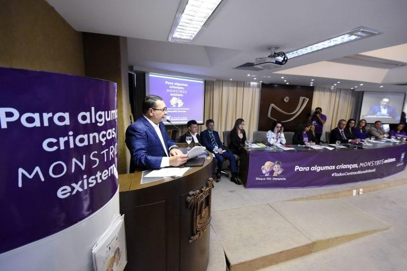 Assembleia Legislativa convoca todos ao combate do abuso infantil