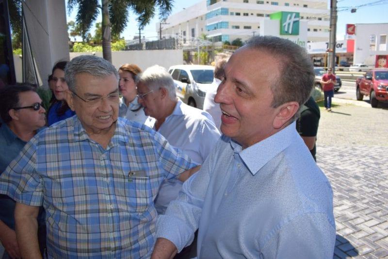 Ântonio Jácome oficializado candidato ao Senado na chapa de Carlos Eduardo