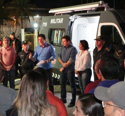 Governo reforça segurança em São Miguel com novos equipamentos
