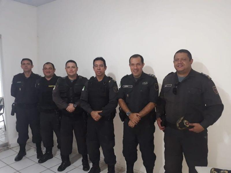 Dirigentes da Associação dos Oficiais visitam batalhões em Natal e discutem problemas da categoria