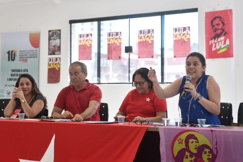 Vice de Fátima será do PC do B e PT indicará o segundo nome do Senador