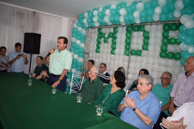MDB do Agreste declara apoio a Carlos Eduardo em Nova Cruz