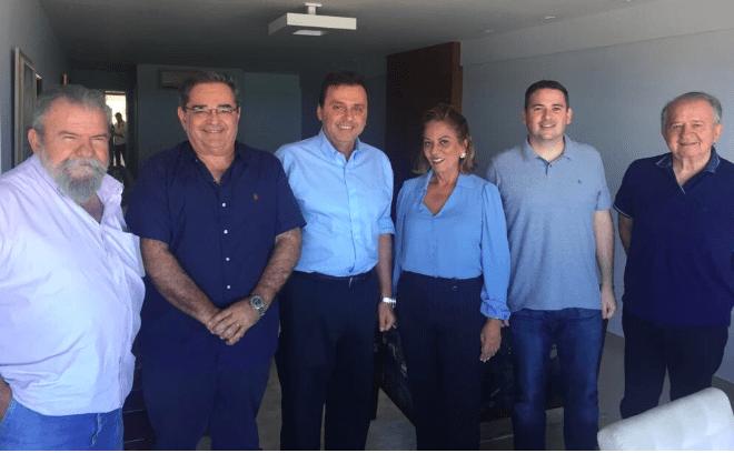 Rosalba Ciarlini oficializa o filho Kadu como vice de Carlos Eduardo