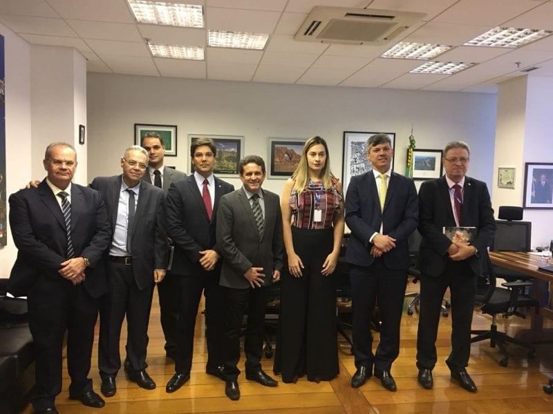 Em Brasília, presidente da CODERN se reúne com Ministros e Técnicos para tratar sobre embargo do Porto-Ilha