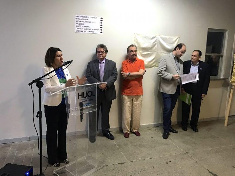 MEC, UFRN e Ebserh entregam novas instalações no Hospital Onofre Lopes