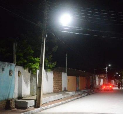 Santo Antônio ganha mais uma rua pavimentada