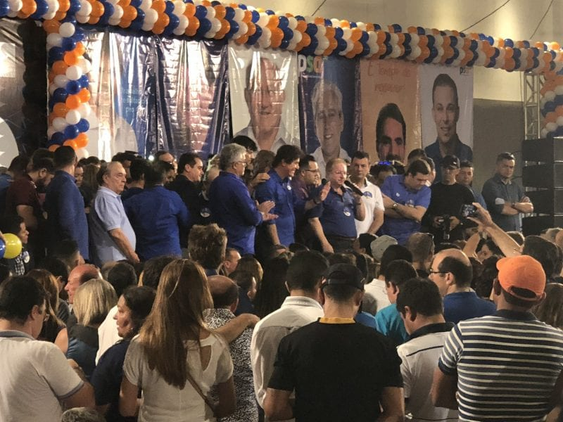 Começa a convenção do PSD que confirma Robinson Faria e Tião Couto