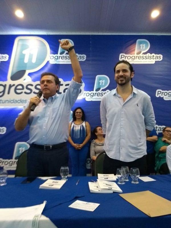 """Na convenção do PP em Mossoró, Carlos Eduardo afirma: """"vitória começa na terra da liberdade e da resistência"""""""
