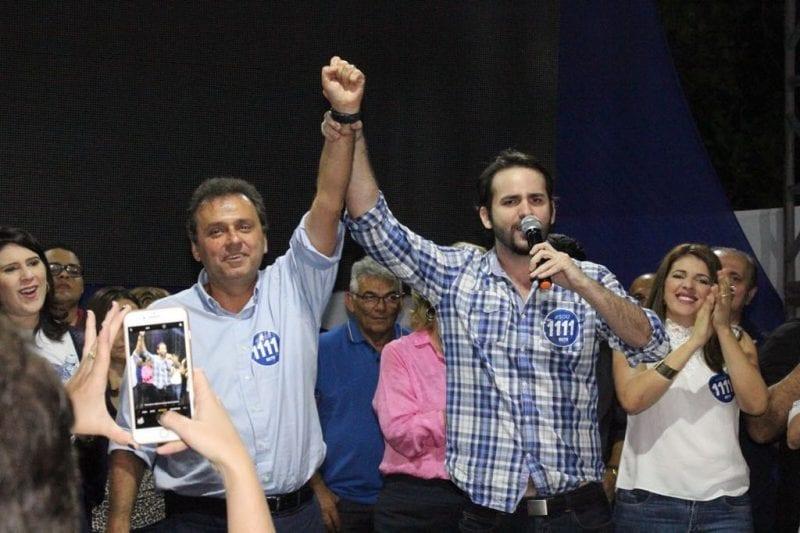 Carlos Eduardo começa campanha em Mossoró