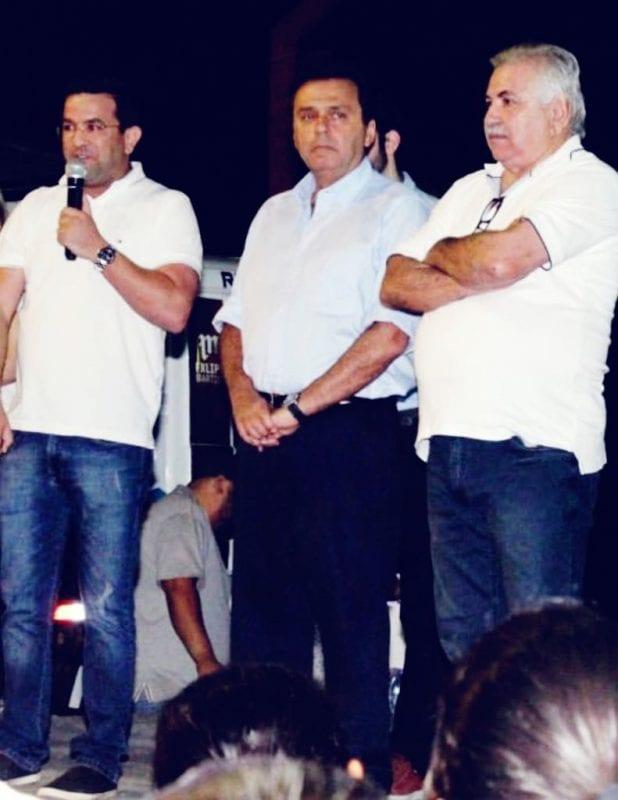 Carlos Eduardo recebe apoio de Pio X em Luís Gomes