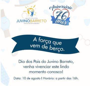 Festa beneficente no Juvino Barreto será sexta-feira