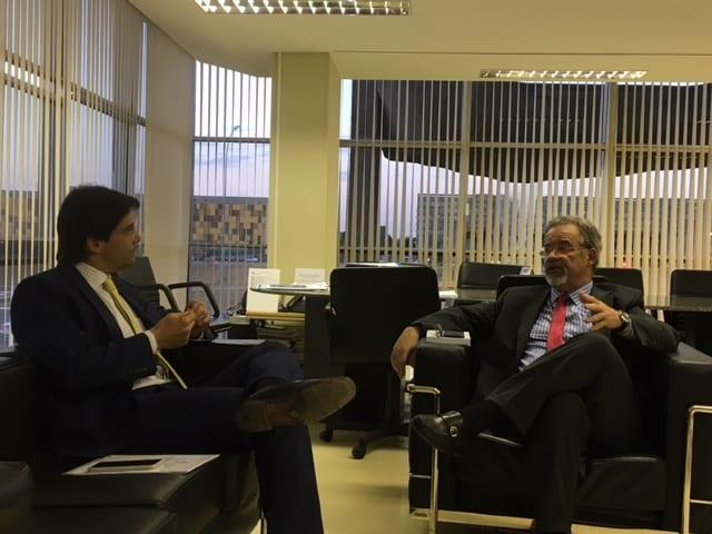 Em audiência com Ministro da Segurança Pública, Deputado Felipe Maia garante liberação de R$ 80 milhões para investimentos em segurança pública no RN