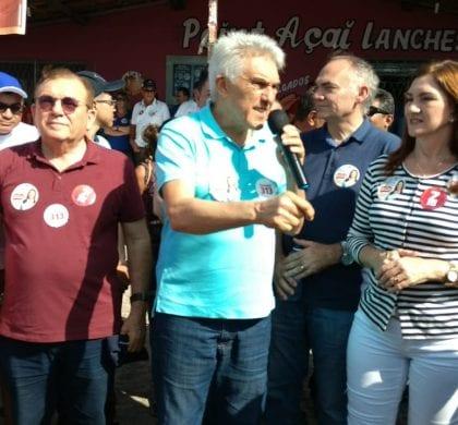 Carreata com João Maia e Terezinha mobiliza comunidades de São Gonçalo e Macaíba