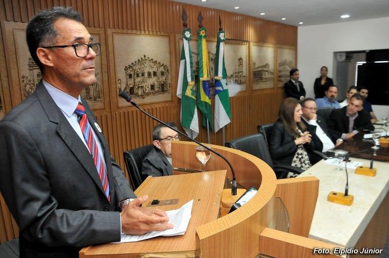 Sérgio Pinheiro é empossado vereador pela Câmara Municipal de Natal