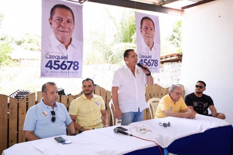 Deputado Ezequiel participa de reunião em João Câmara, no Mato Grande