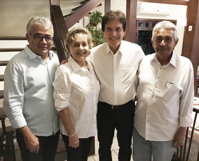 Fafá Rosado e Leonardo Nogueira declaram apoio a Robinson Faria