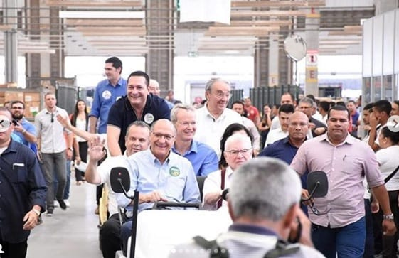 A visita de Geraldo Alckmin ao RN, presidenciável vai ao hospital da Liga Contra o Câncer e participa de mobilização na Guararapes