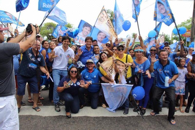 "Em Natal, Robinson Faria promove ""Onda Azul"""