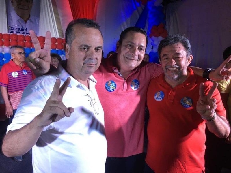 Prefeito de Angicos anuncia voto em Rogério Marinho para federal e Ezequiel estadual