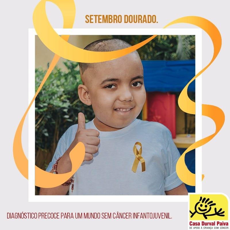 Setembro Dourado alerta para o diagnóstico precoce do câncer infantojuvenil