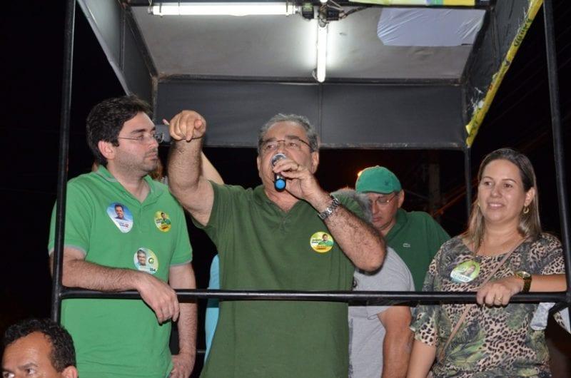Álvaro Dias fortalece campanha de Adjuto e Carlos Eduardo em Caicó com arrastões