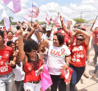 "No Potengi, Fátima conclama povo a ""intensificar a luta"""