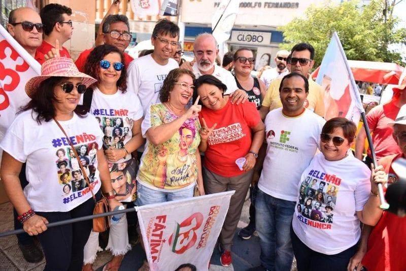 No Oeste, Seridó e Trairi, Fátima diz que vai recuperar Plano Estadual de Educação
