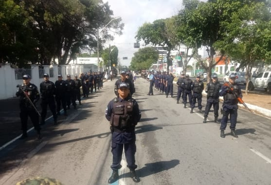 Guardas municipais passam por avaliação psicológica de porte e uso de arma de fogo