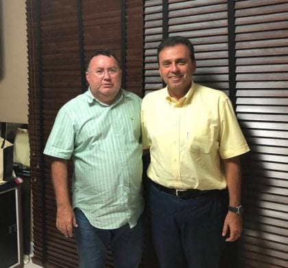 Deputado eleito dr. Bernardo declara apoio ao candidato Carlos Eduardo