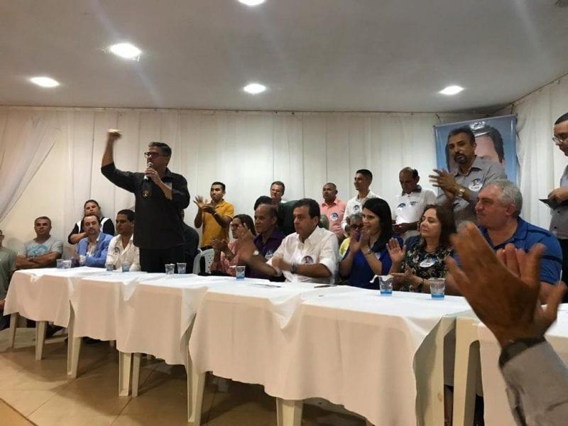 Coronel André Azevedo declara apoio a Carlos Eduardo