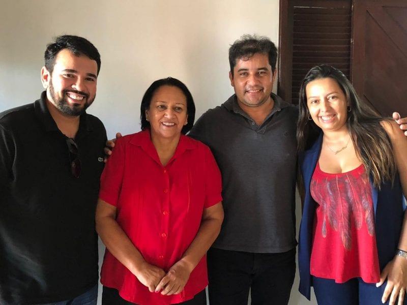 Prefeito do MDB declara apoio à Fátima Bezerra