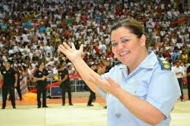 Coronel Margarida poderá ser a nova comandante geral da PM no Governo Fátima