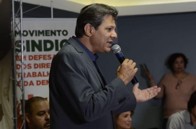 Haddad nega que tenha tratado de apoio em telefonema a Fernando Henrique Cardoso
