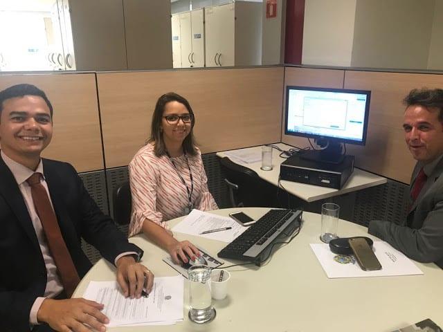 Prefeito de Extremoz, Joaz cumpre agenda em Brasília