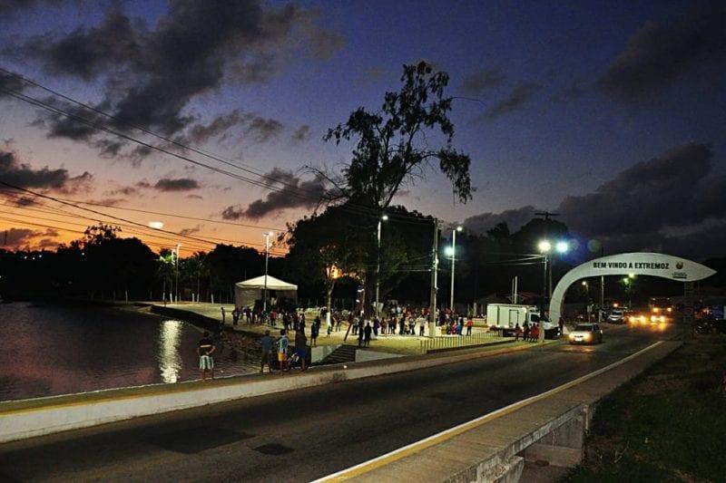 Prefeitura de Extremoz faz reurbanização da área no entorno da Lagoa de Extremoz