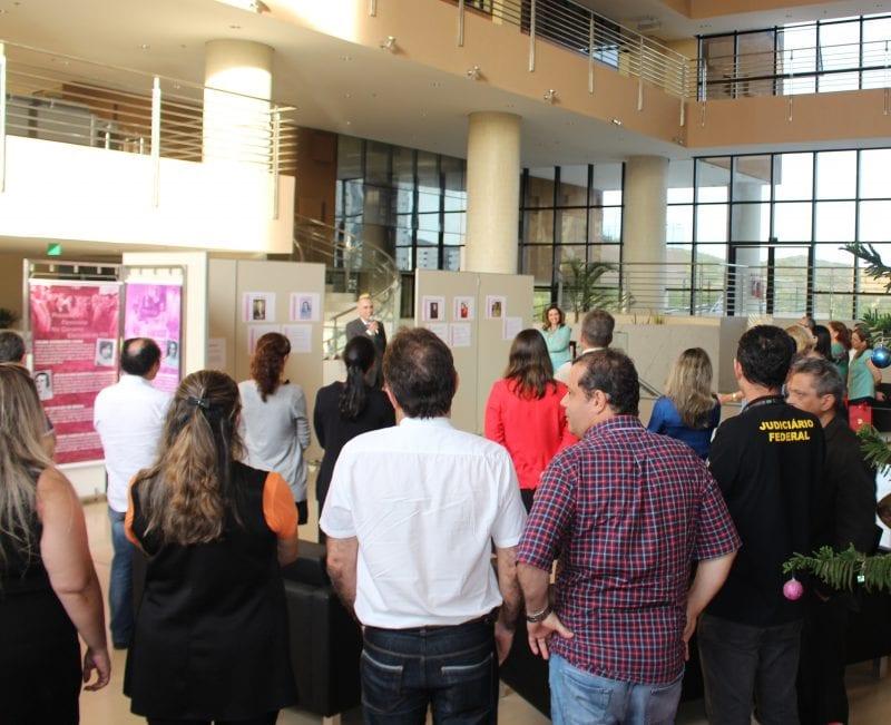 TRE-RN abre exposição sobre os 30 anos da Constituição Federal e os 90 anos do Voto Feminino no RN