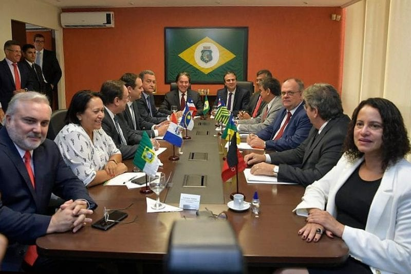 Governadora Fátima participa do Fórum de governadores do NE