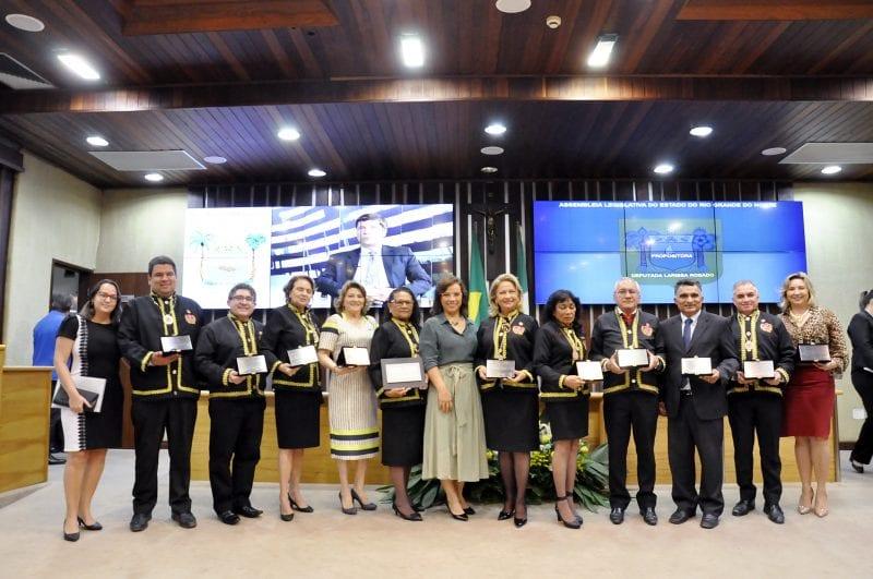 Academia de Ciências Jurídicas de Mossoró recebe homenagem da Assembleia Legislativa