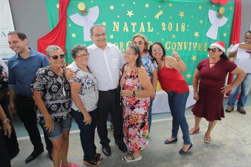 Alegria e gratidão marcam o Natal dos Idosos da Prefeitura de Natal